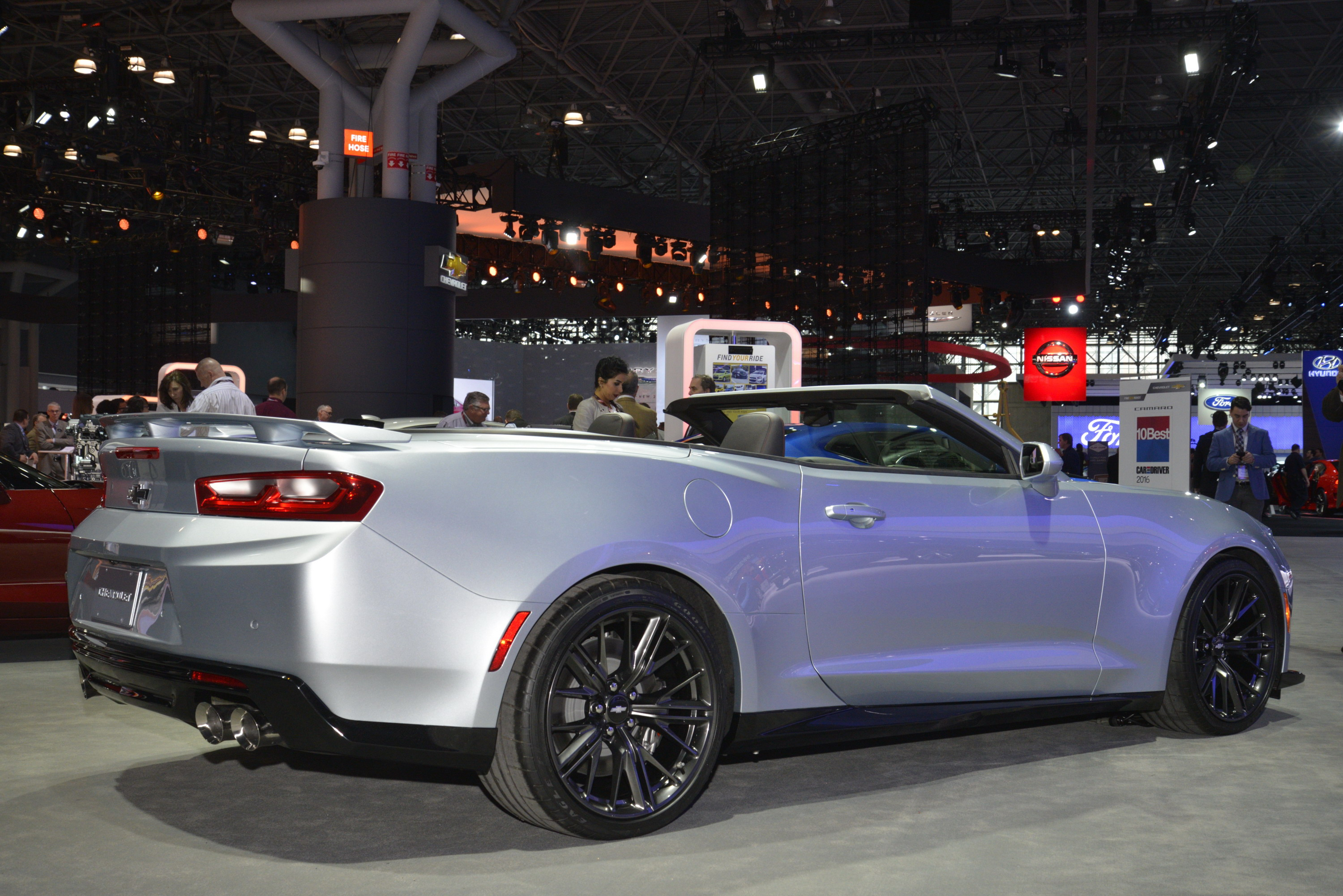 Chevrolet Camaro Convertible reviews restyling