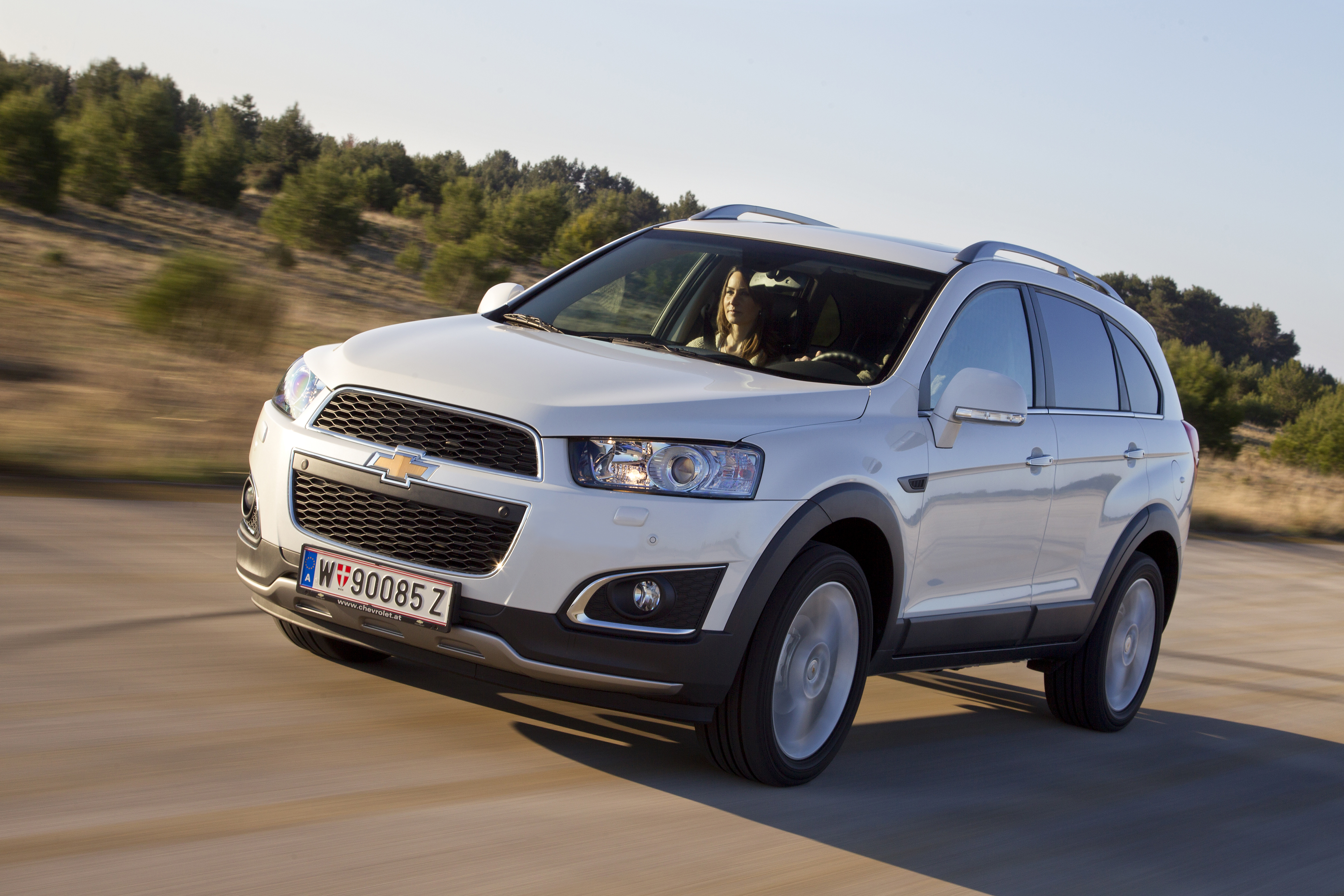 Chevrolet Captiva mod photo