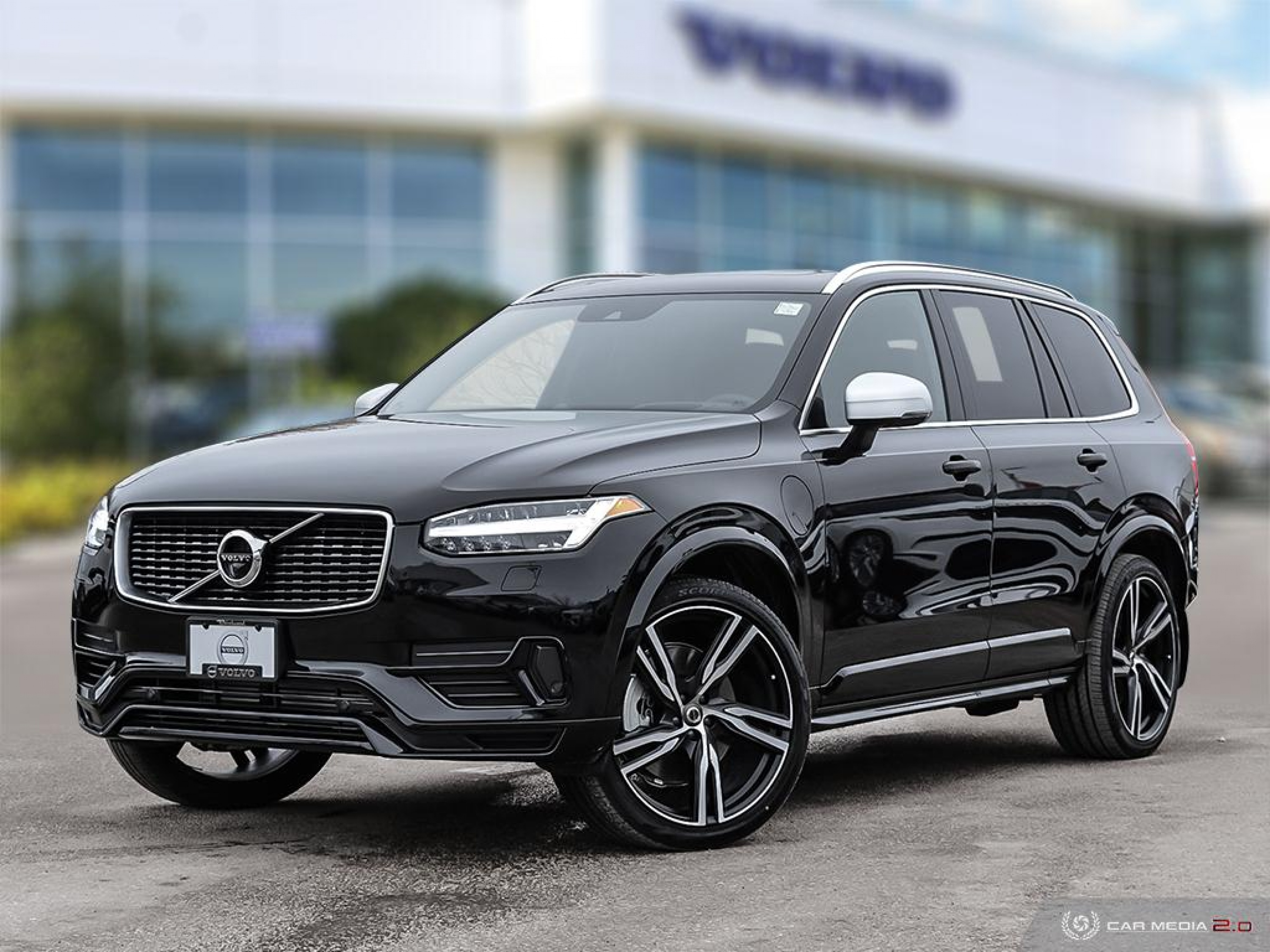 Volvo XC90 exterior restyling