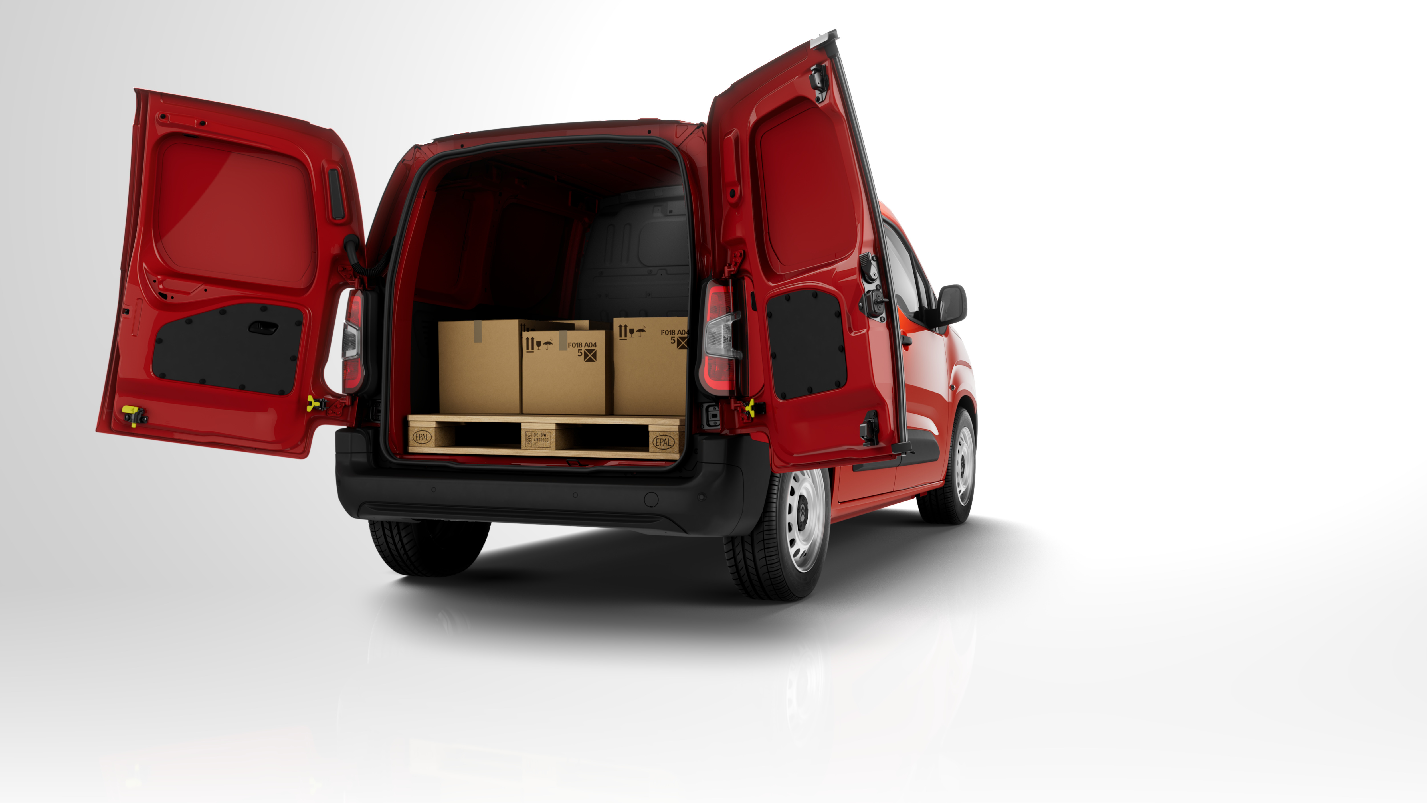 Citroen Berlingo Van 4k restyling