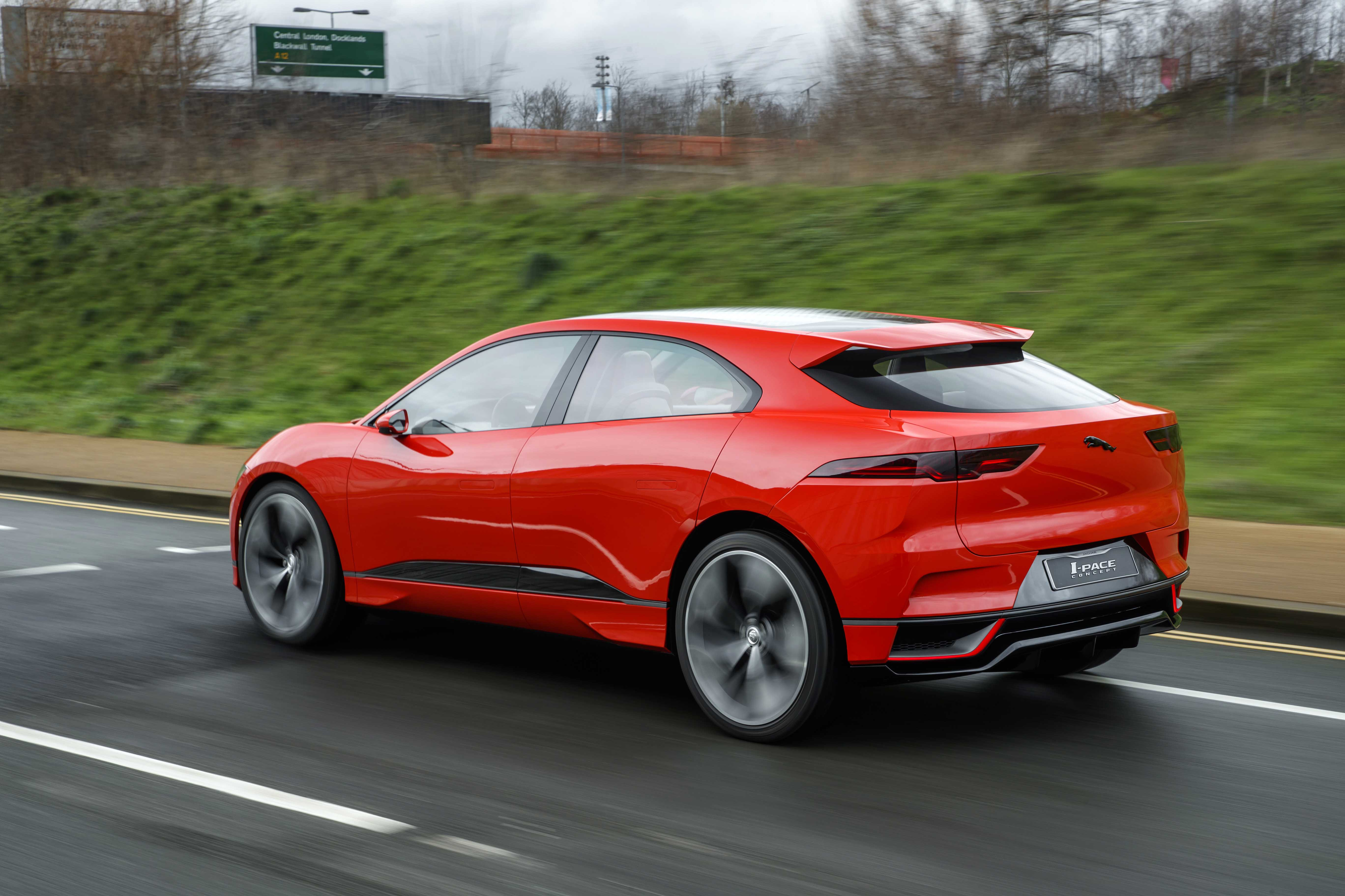 Jaguar I-Pace suv specifications