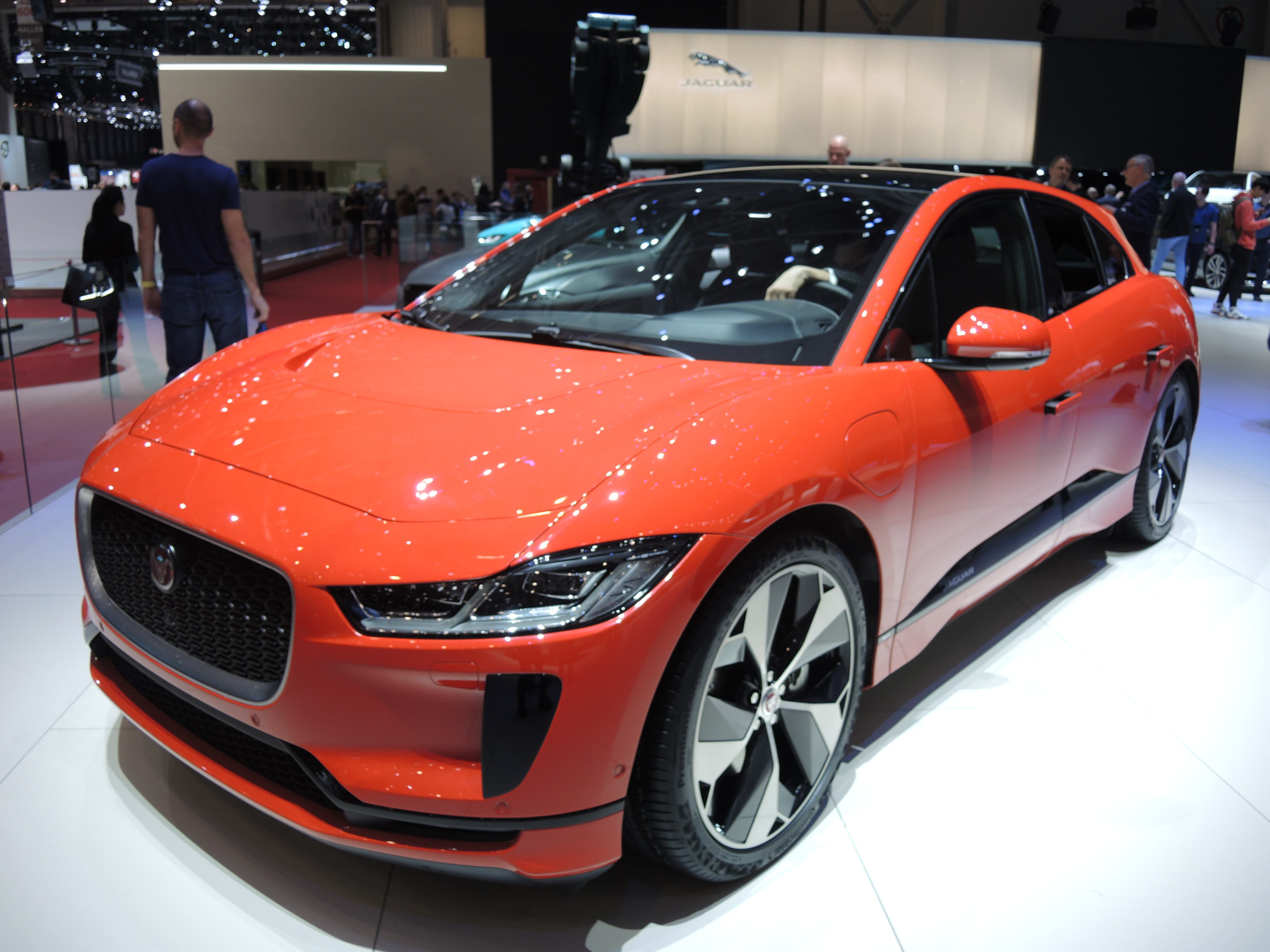 Jaguar I-Pace hd model