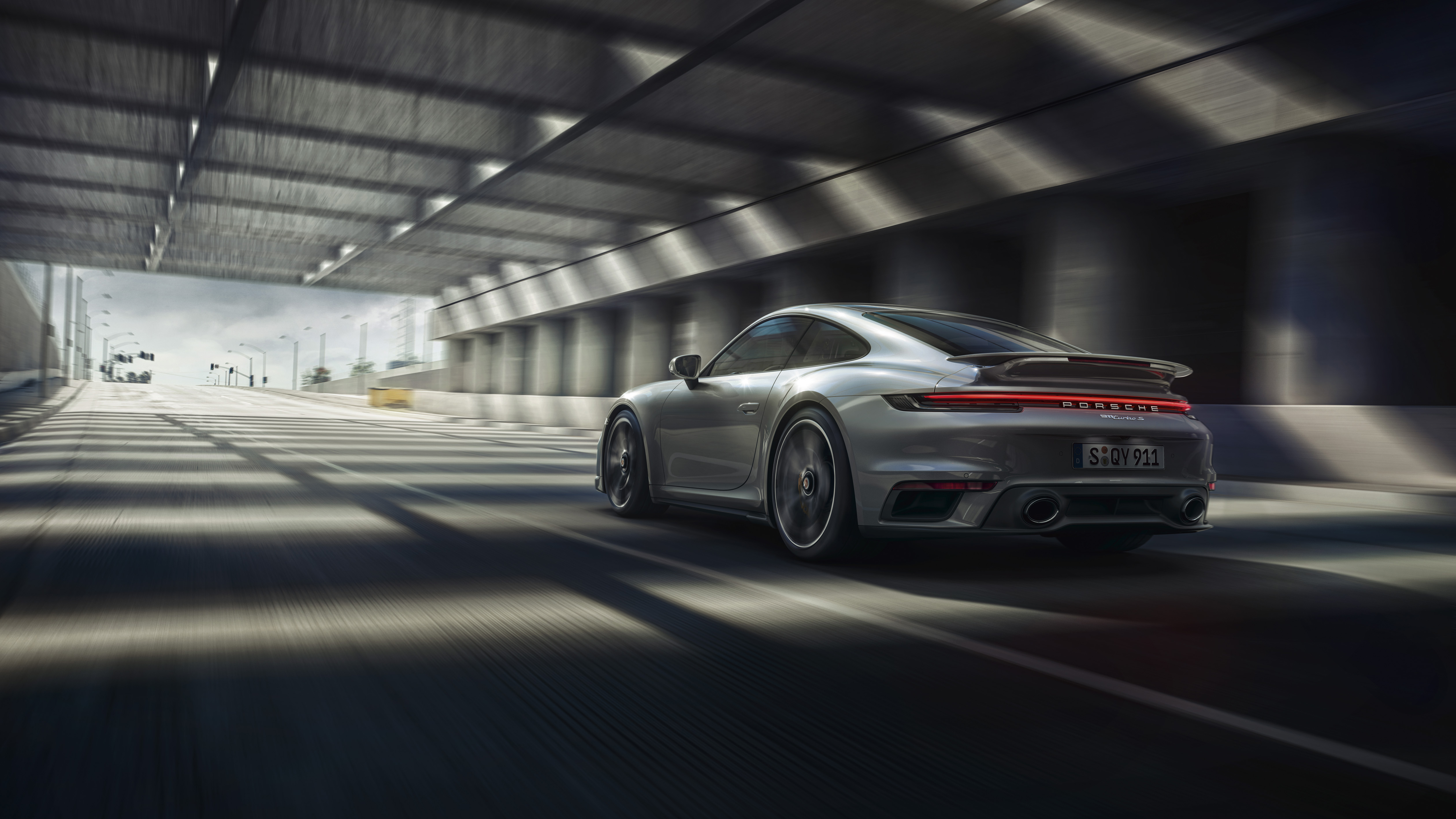 Porsche 911 Turbo coupe restyling