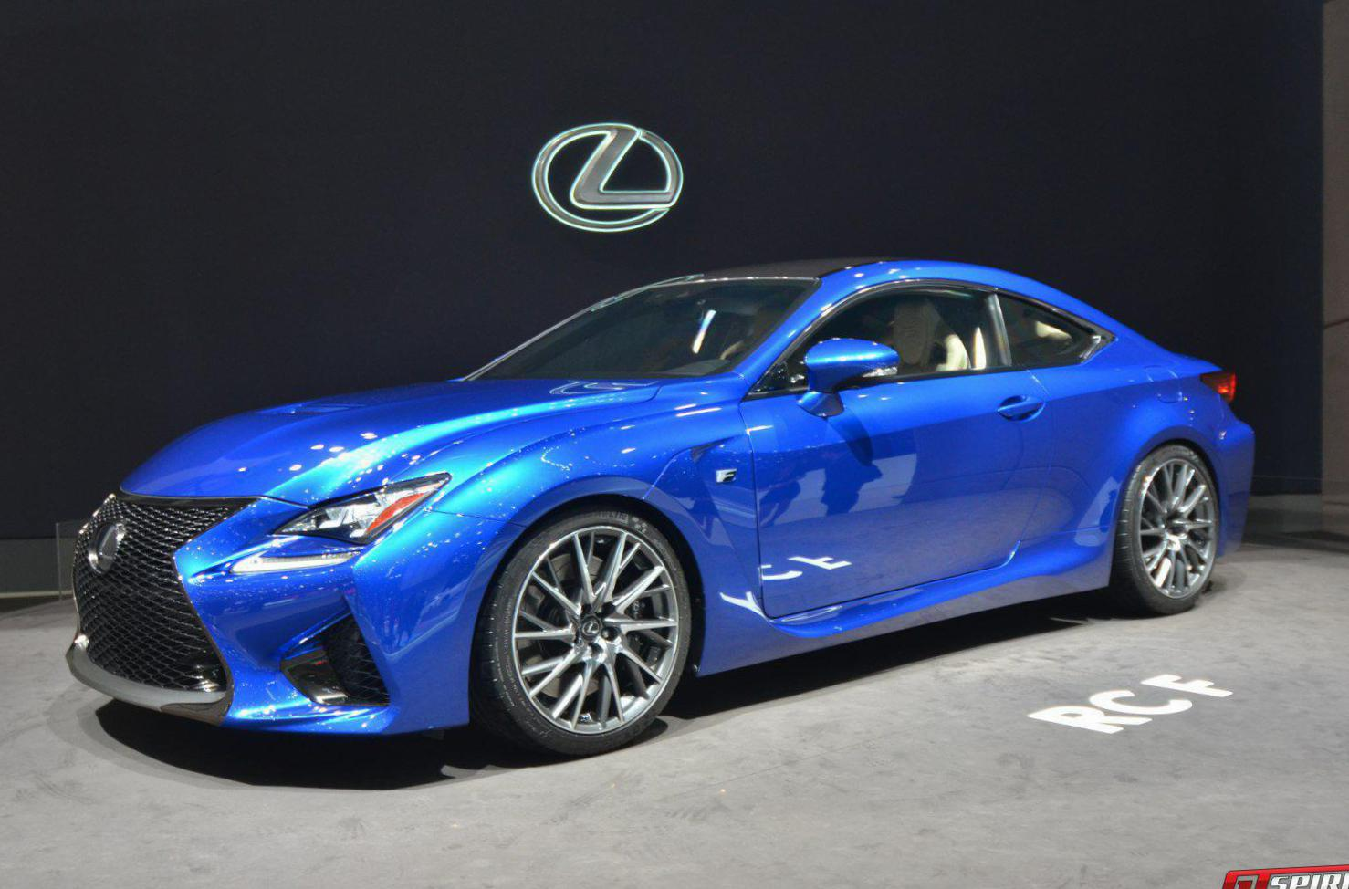 Lexus RC F approved cabriolet