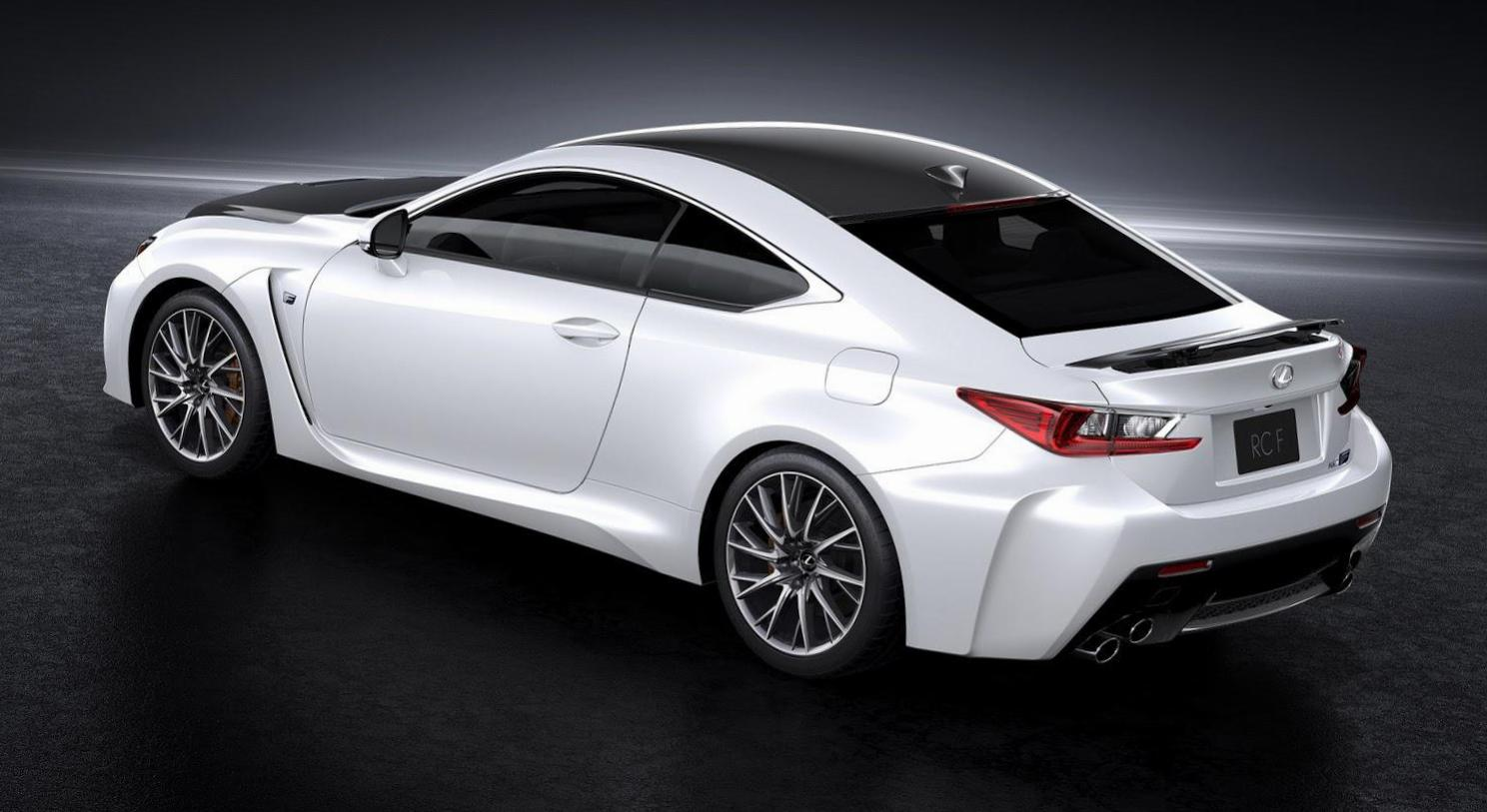 RC F Lexus how mach 2013