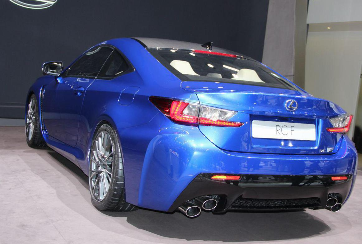 RC F Lexus prices 2009