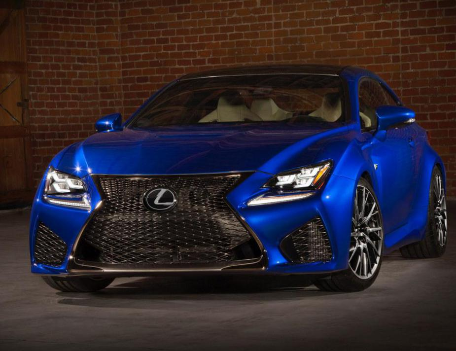 RC F Lexus Specifications coupe