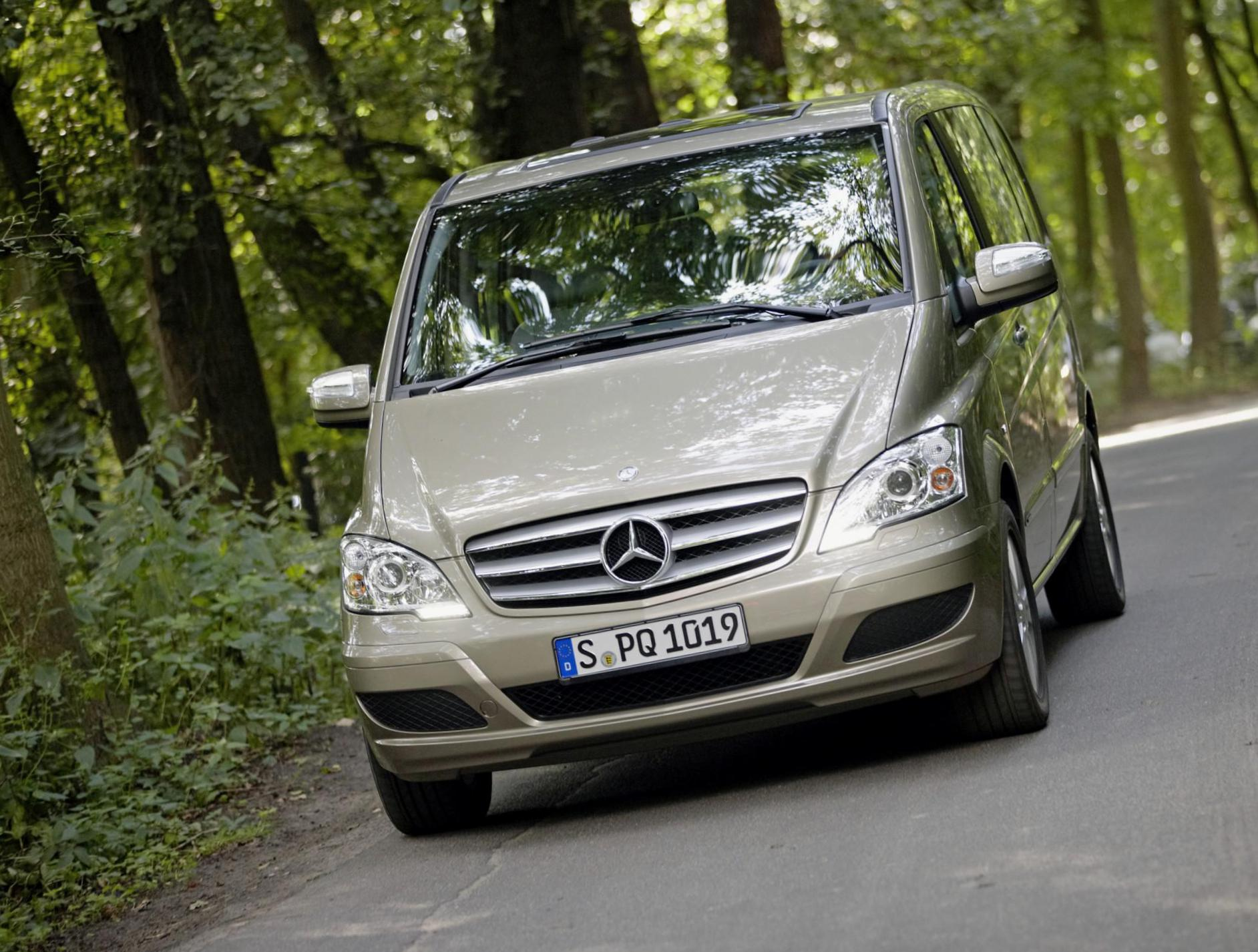 Mercedes Viano (W639) approved 2015