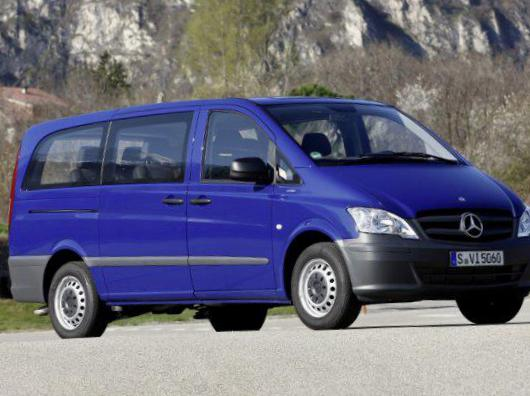 Vito Kombi (W639) Mercedes approved sedan