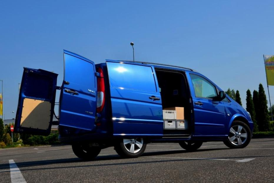 Mercedes Vito Furgon (W639) reviews 2011