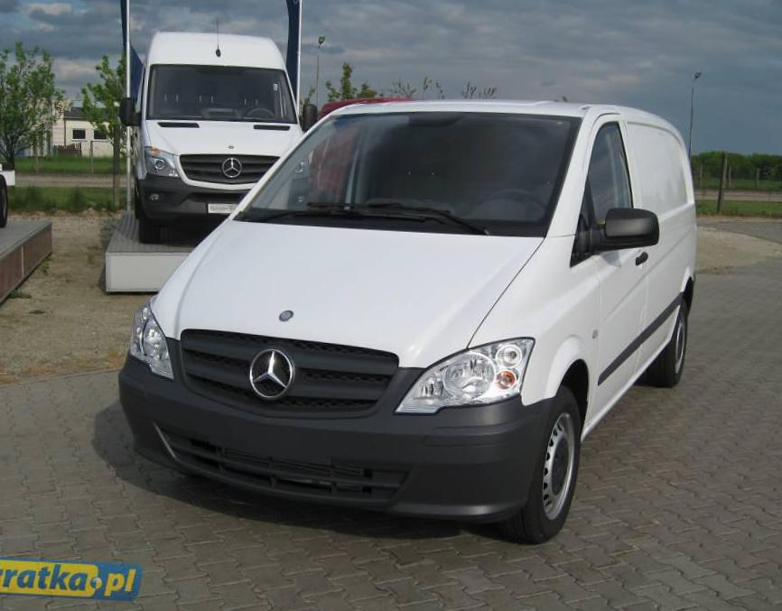 Mercedes Vito Furgon (W639) Specifications suv
