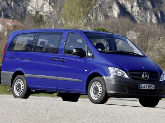 Vito Furgon (W639) Mercedes prices 2007