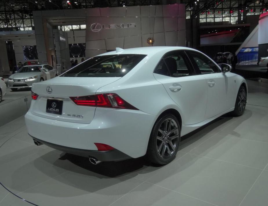 Lexus IS 250 models 2013
