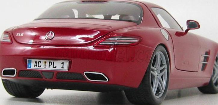 SLS AMG Coupe (C197) Mercedes how mach 2011