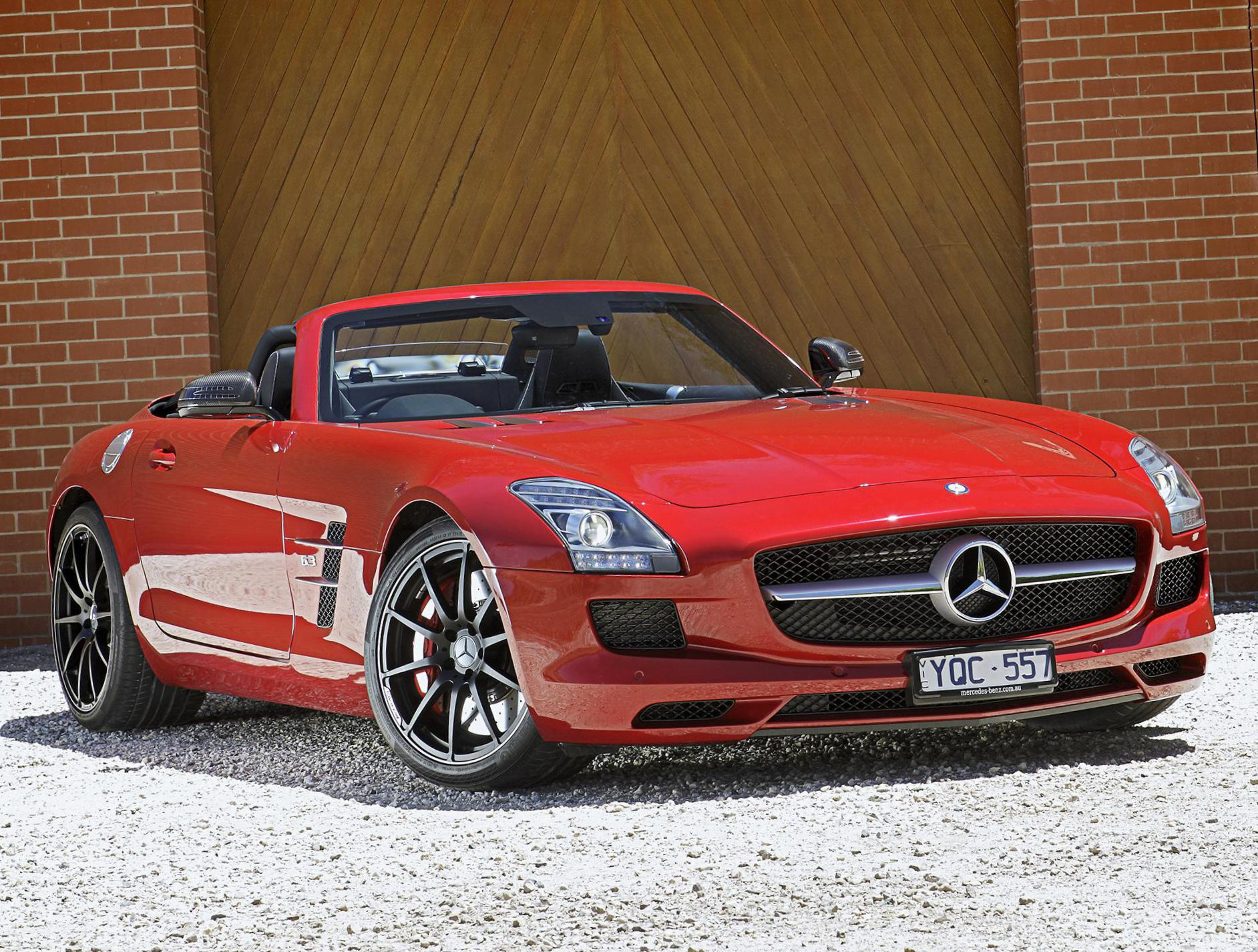 SLS AMG Roadster (R197) Mercedes configuration coupe