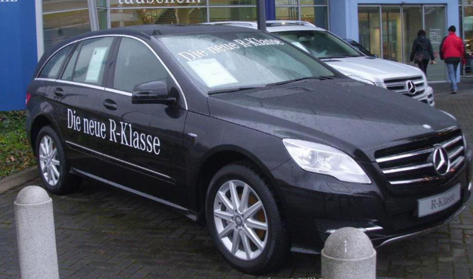 R-Class (W251) Mercedes prices 2010