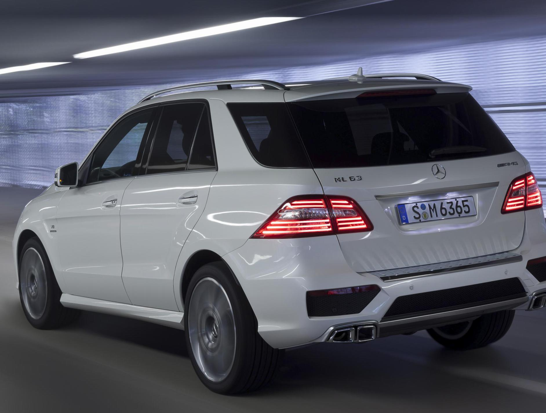 M-Class (W166) Mercedes approved suv