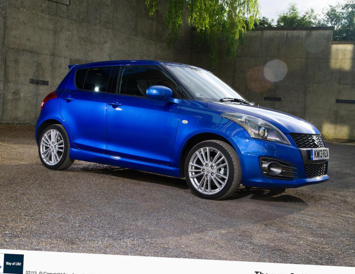 Suzuki Swift Sport 5 doors configuration 2012