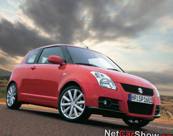 Suzuki Swift Sport 3 doors cost 2013