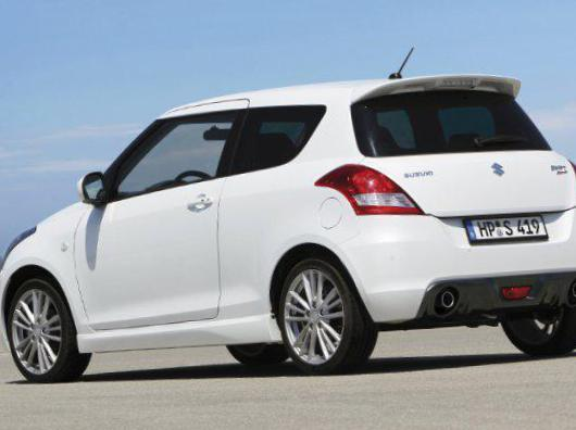 Swift Sport 3 doors Suzuki prices 2013