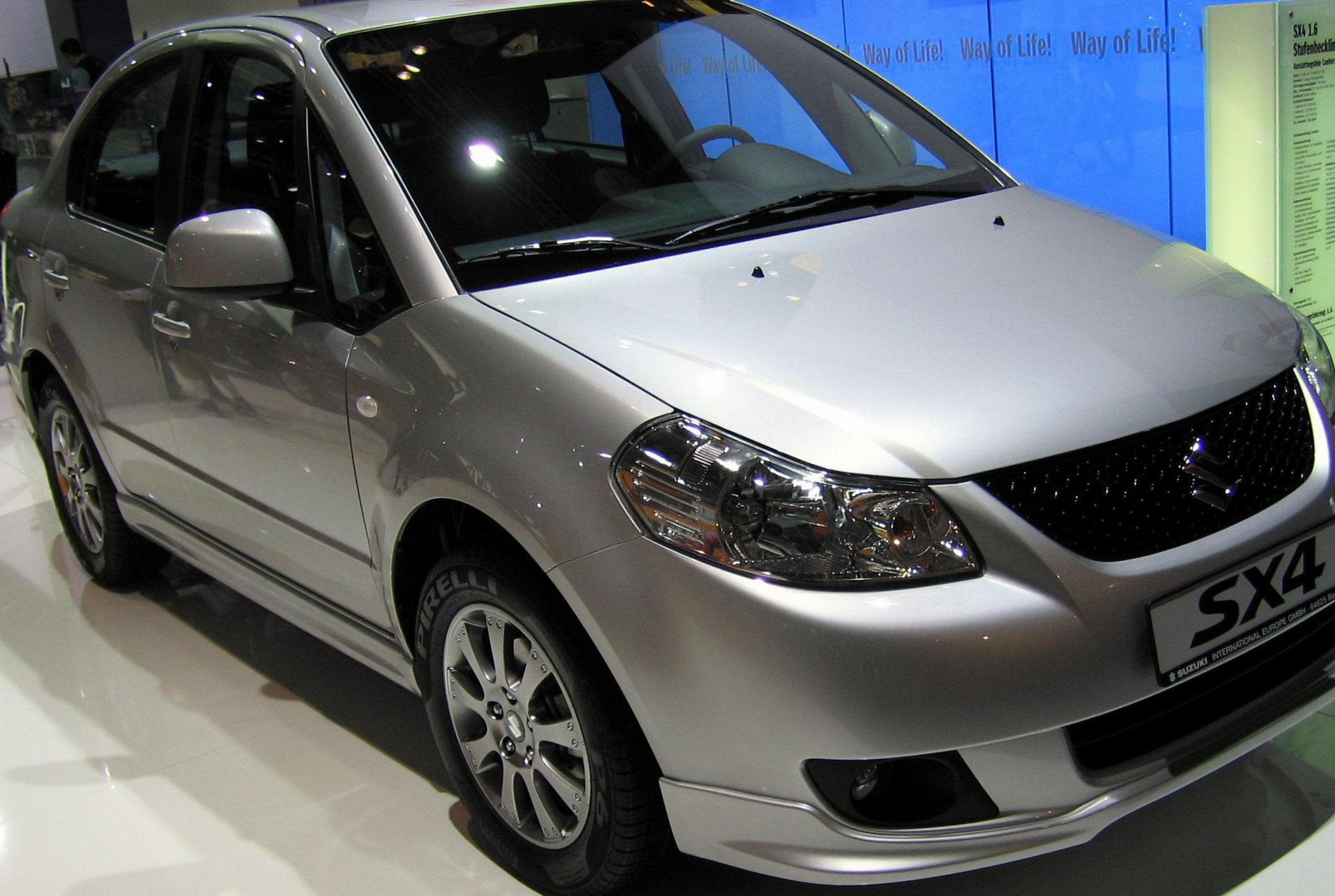 Suzuki SX4 Sedan reviews 2013