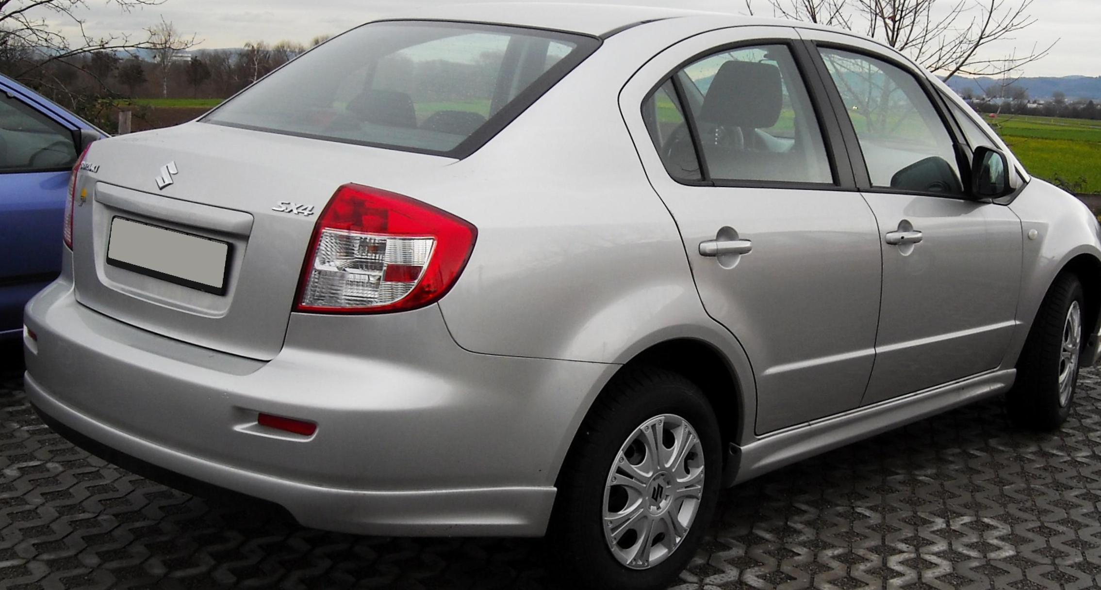 Suzuki SX4 Urban parts sedan