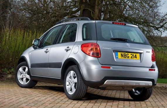 SX4 Urban Suzuki Specification suv