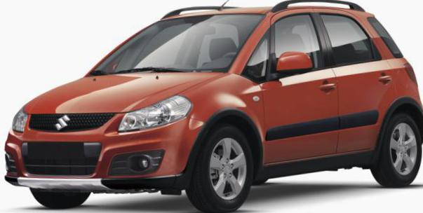 Suzuki SX4 Outdoor approved 2011
