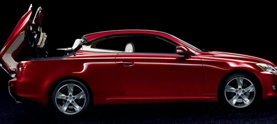 Lexus IS 250C review 2011