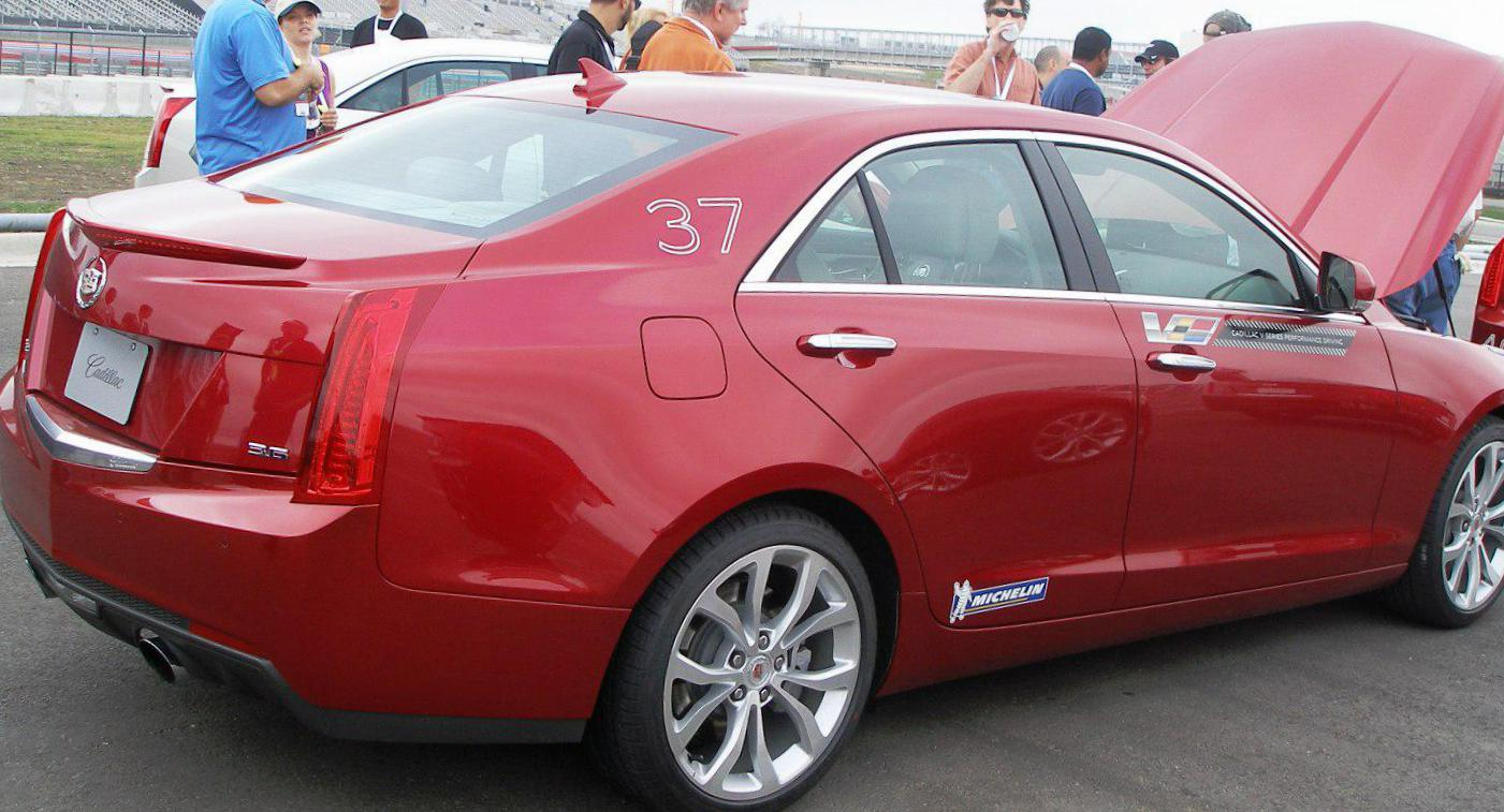 ATS Sedan Cadillac new sedan