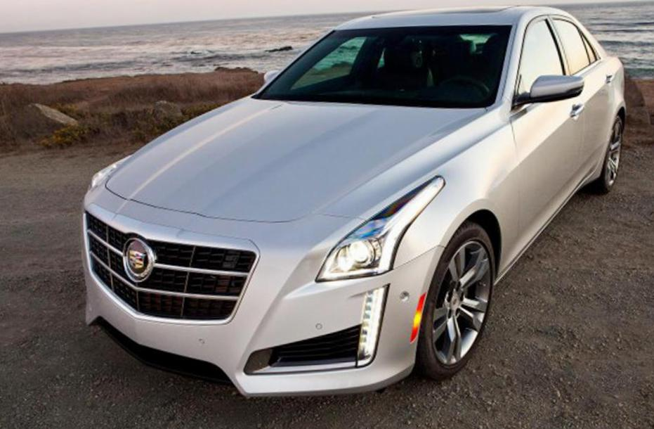 Cadillac CTS Sedan lease van