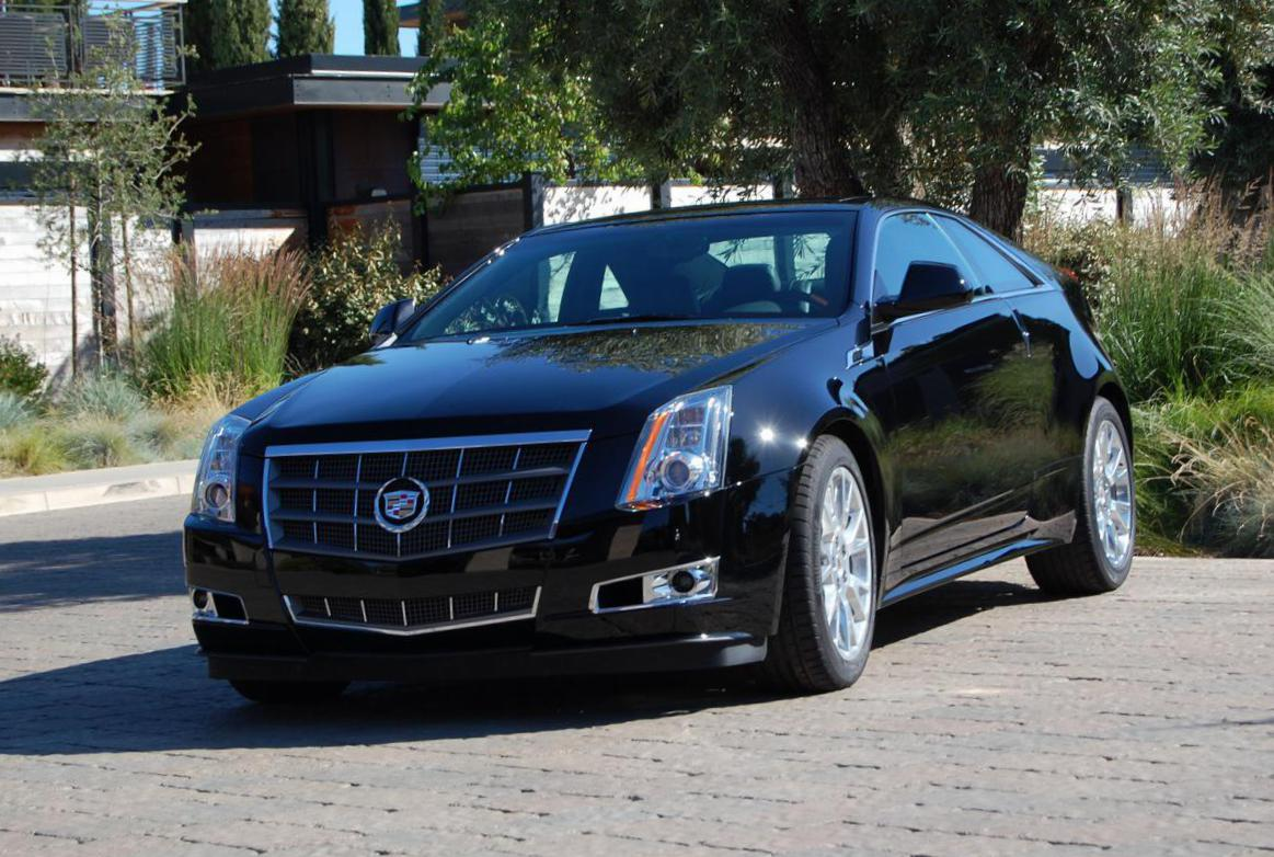 Cadillac CTS Coupe price 2011