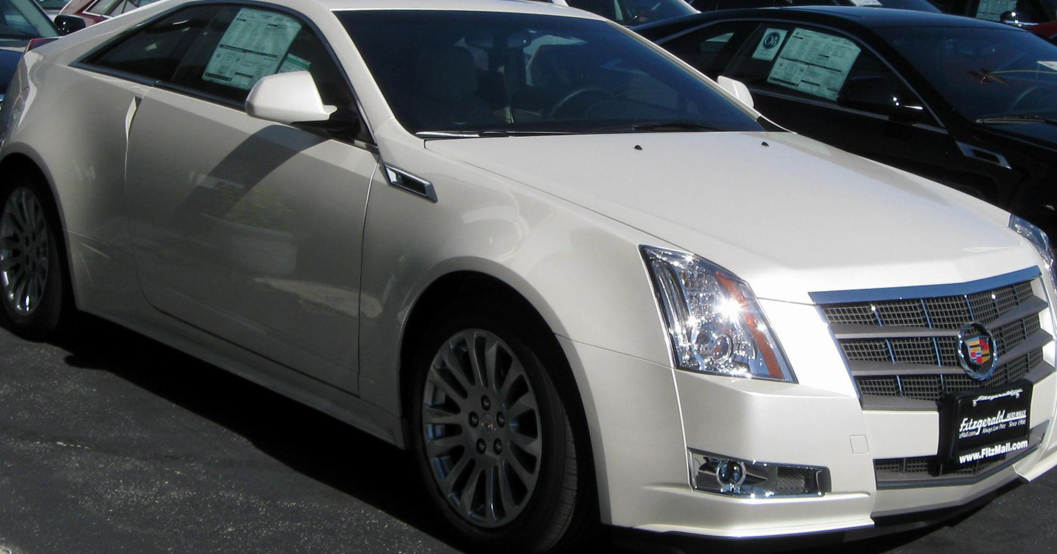 Cadillac CTS Coupe spec 2012