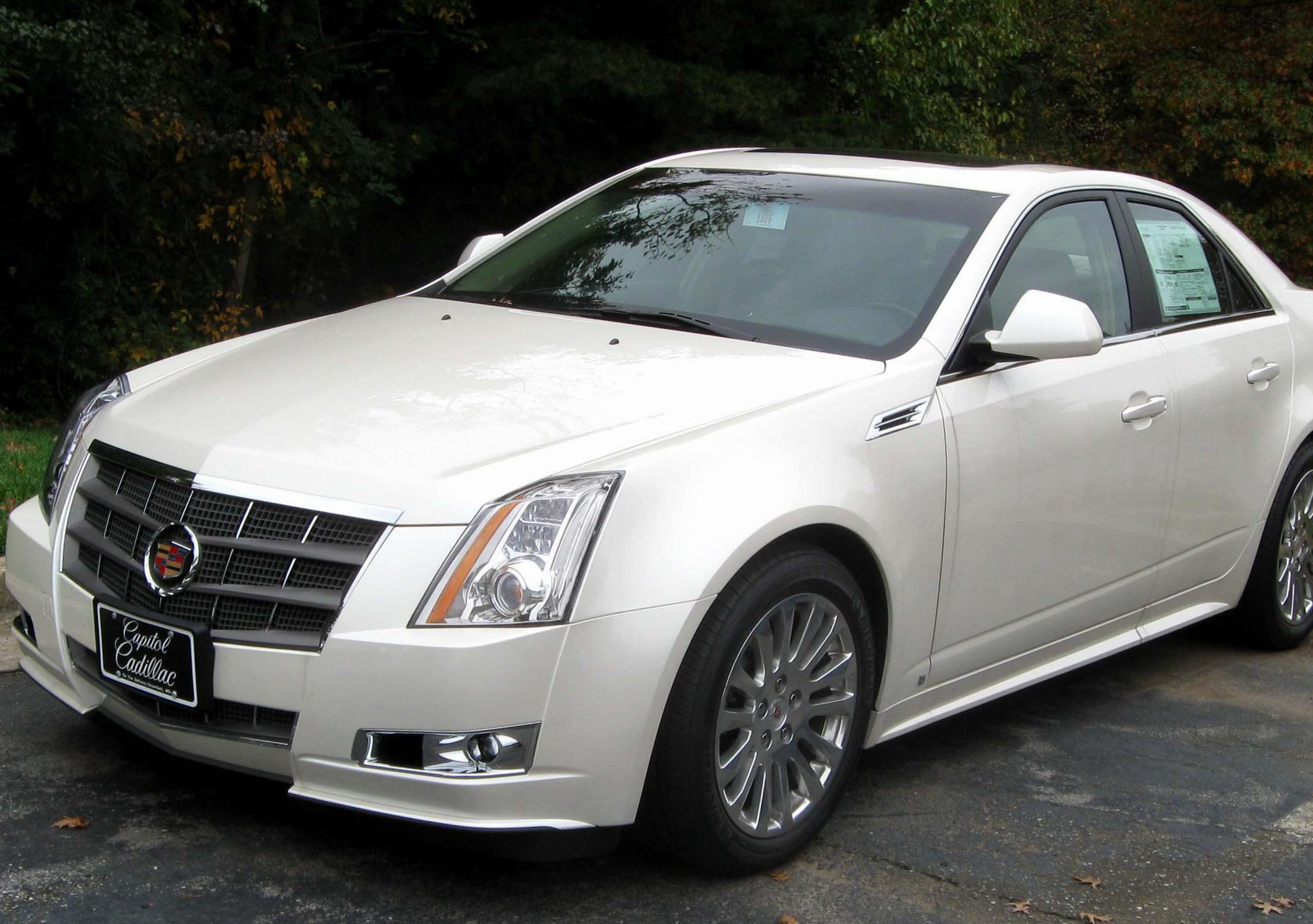Cadillac CTS Coupe specs pickup