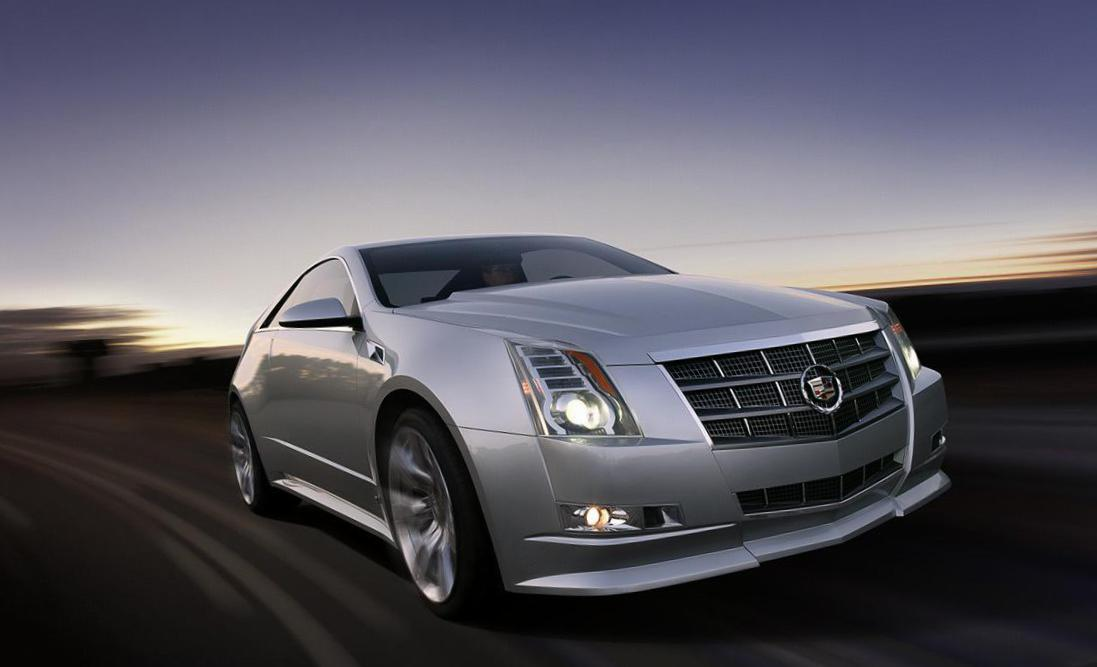 CTS Coupe Cadillac concept 2011