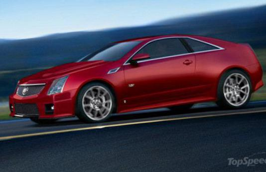CTS Coupe Cadillac model 2014