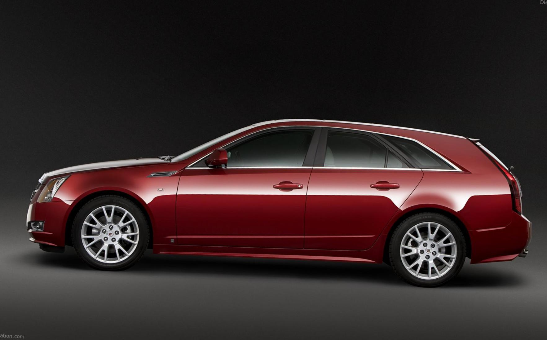 Cadillac CTS Sport Wagon configuration coupe
