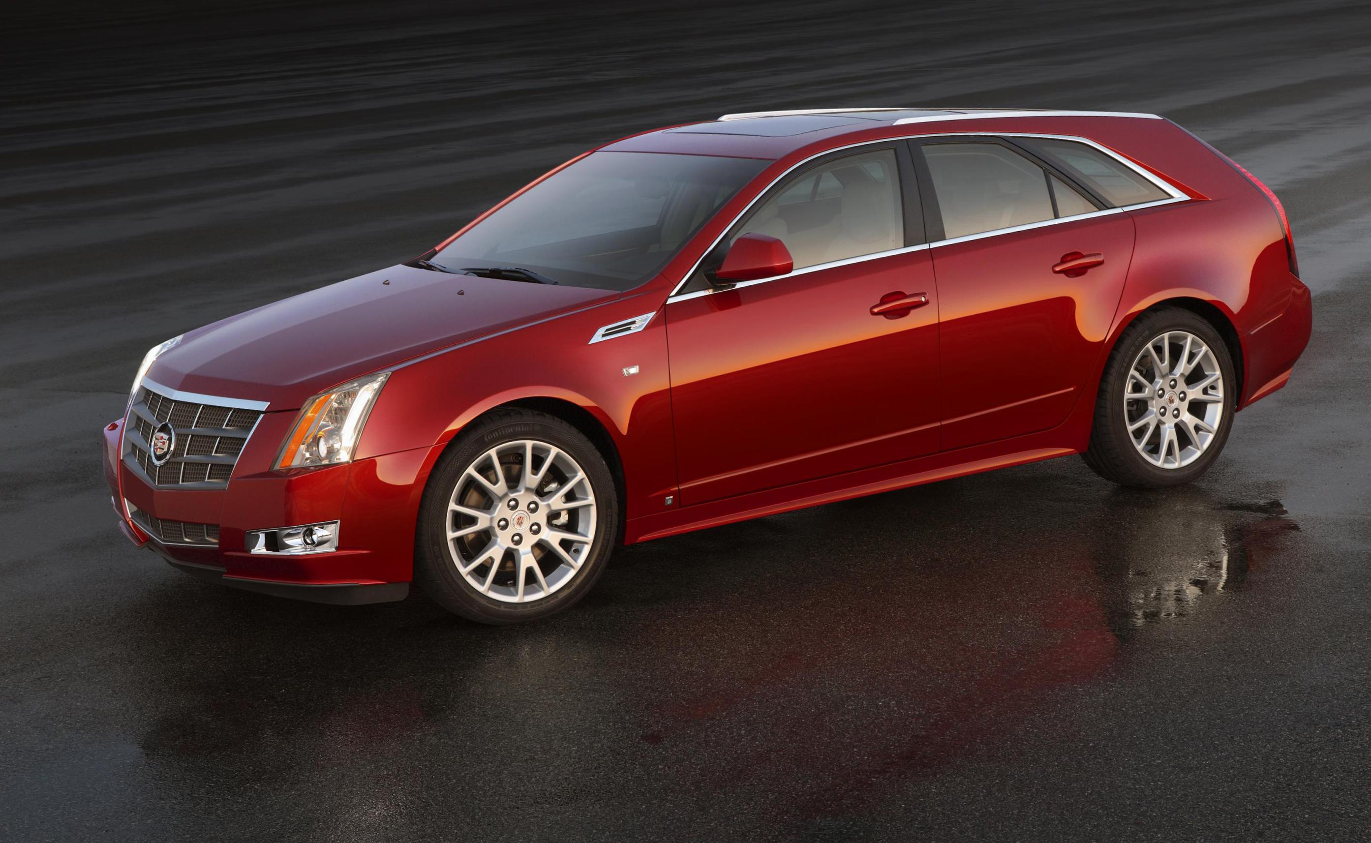 CTS Sport Wagon Cadillac lease 2014