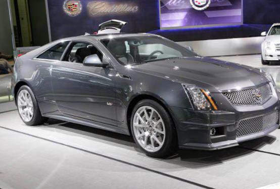 Cadillac CTS-V Coupe lease 2012