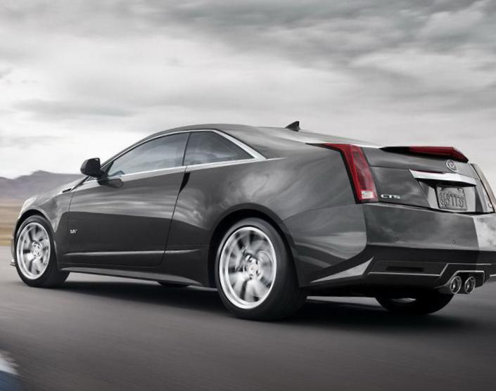 Cadillac CTS-V Coupe price 2009