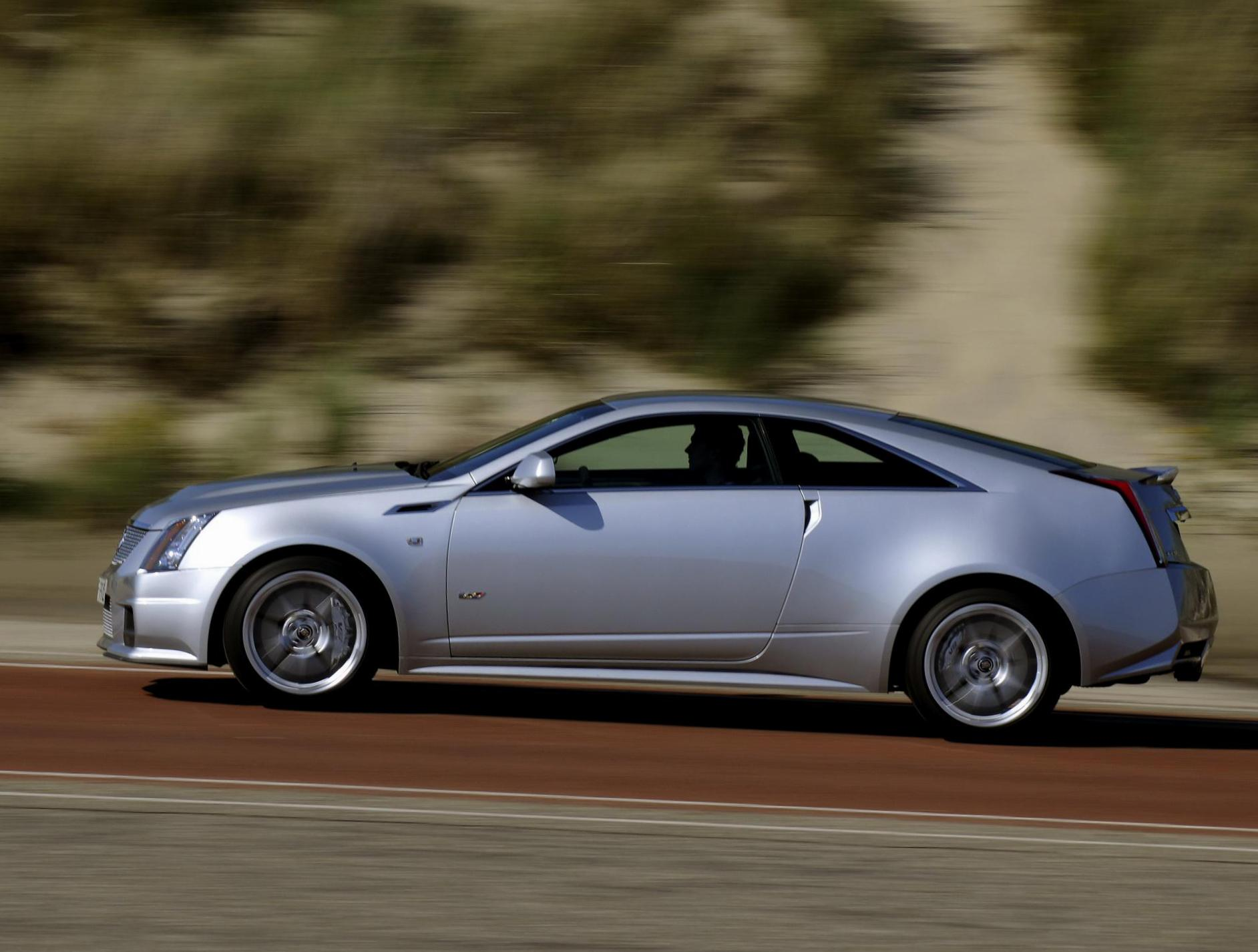Cadillac CTS-V Coupe review 2014