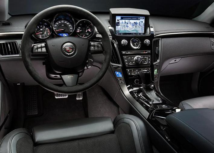 CTS-V Coupe Cadillac configuration 2008