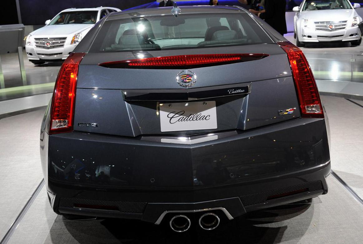 CTS-V Coupe Cadillac model 2008