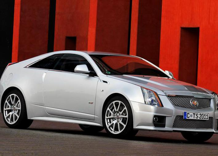 CTS-V Coupe Cadillac reviews 2009