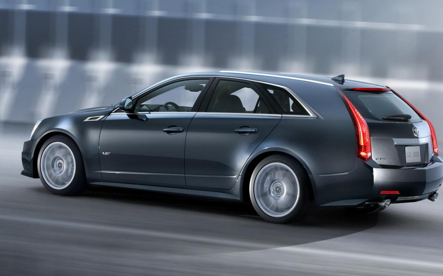 Cadillac CTS-V Wagon Specifications 2013