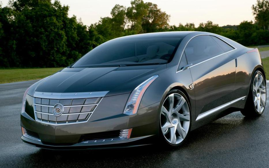 Cadillac ELR Coupe concept hatchback