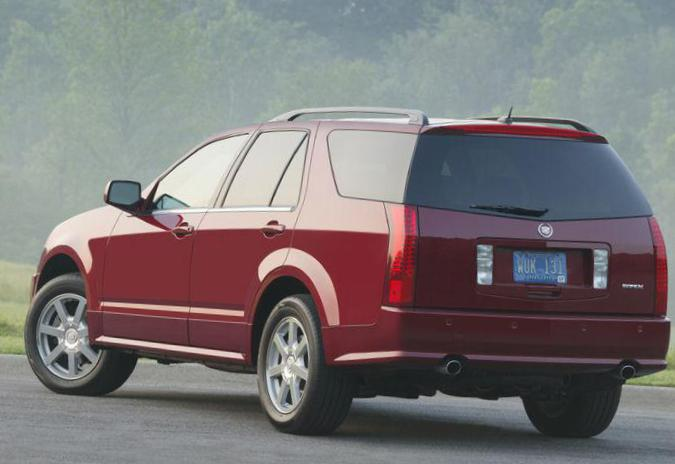 Cadillac SRX Specifications 2010