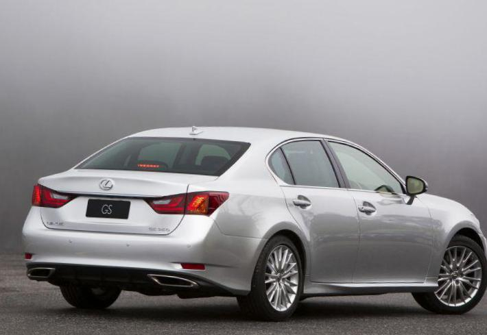 Lexus ES 250 350 configuration coupe