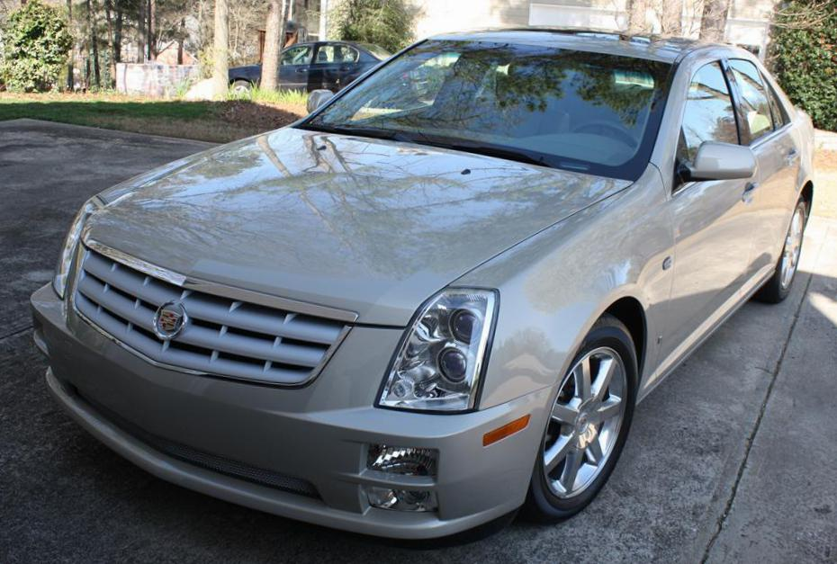 Cadillac STS review 2008