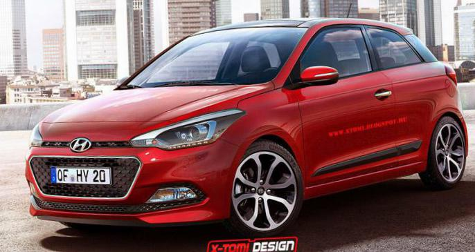 i20 3 doors Hyundai new hatchback